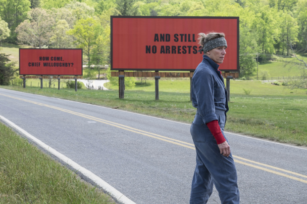 In 'Three Billboards,' a timely portrait of outrage