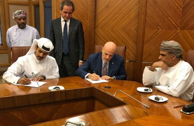 QP signs agreement for Block 52 offshore Oman