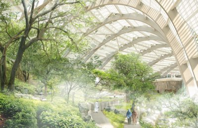 Arup unveils design for giant Oman botanical garden