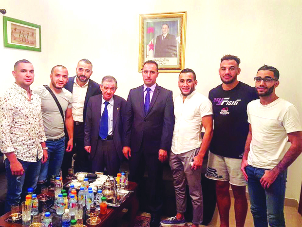 MMA artists backed by embassies