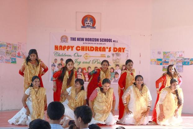 Children's Day celebration at New Horizon School