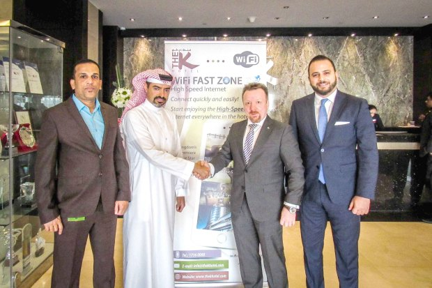 Photo Gallery: Zain Bahrain signs key agreement with K Hotel