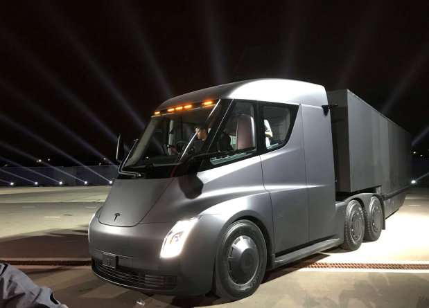 Motoring: PICTURES: Tesla unveils its all-electric semi truck
