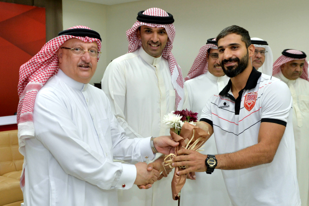 National futsal team returns to warm welcome