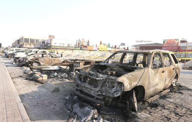 38 stores damaged in blast