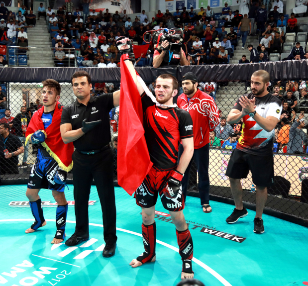 IN PICTURES: Bahrain duo reach MMA championship final