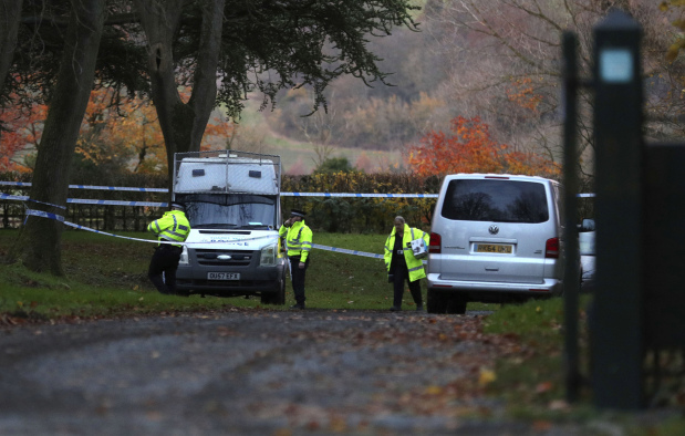 Four dead in UK air crash