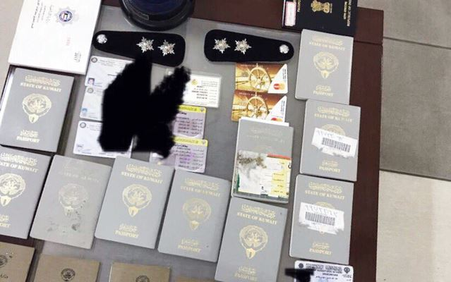 Kuwait 'James Bond' caught with 15 forged passports