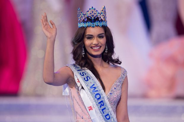 PHOTOS: India's Manushi Chhillar crowned Miss World 2017