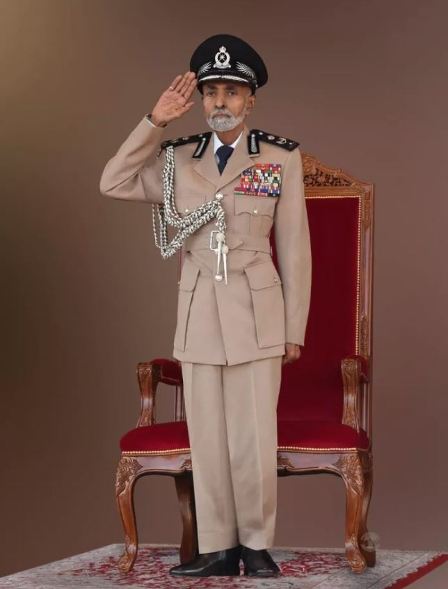Sultan Qaboos patronises 47th National Day military parade