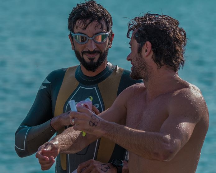 PICTURES: Shaikh Nasser takes part in Open Water Swimming event