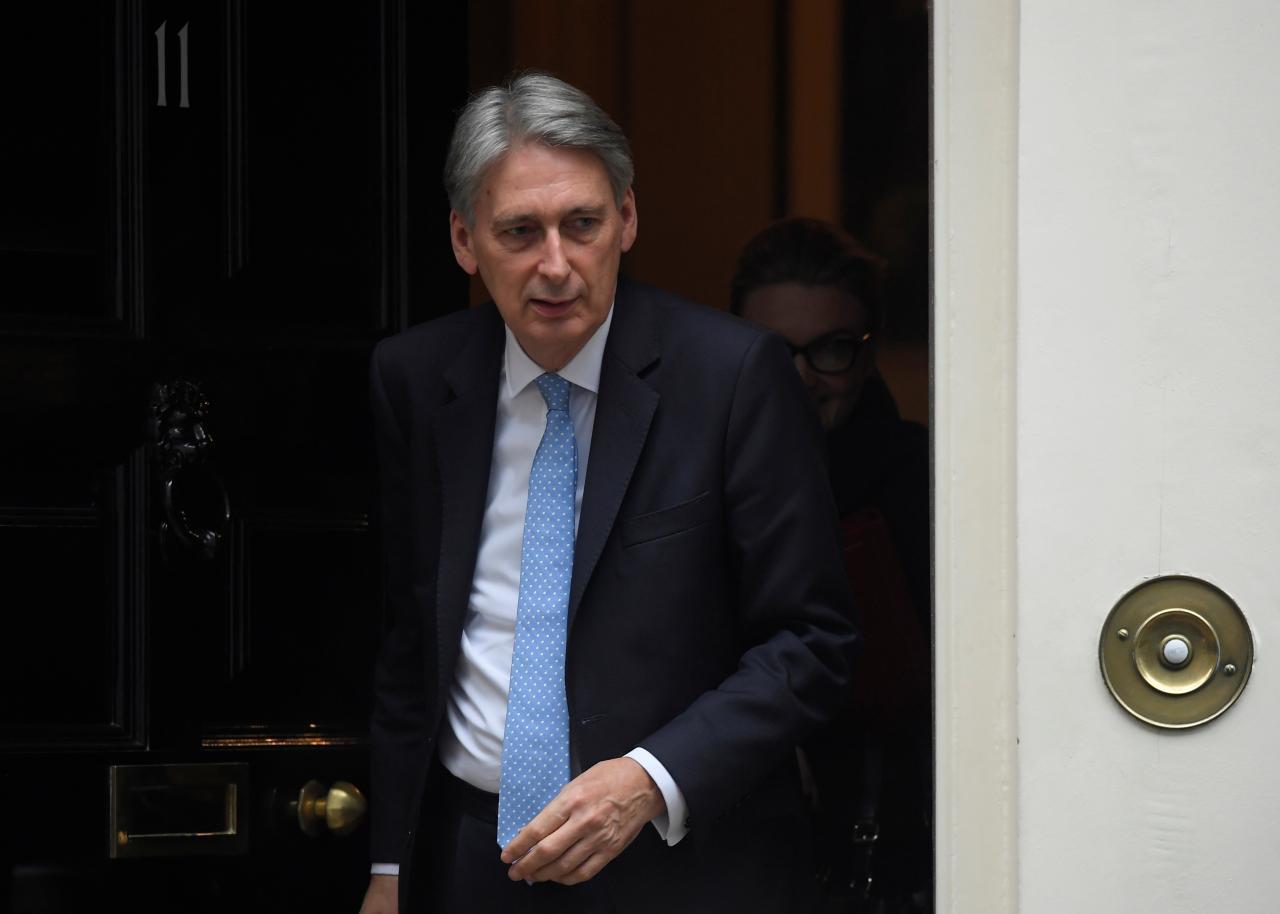 UK's Hammond, under pressure on budget, promises more homes