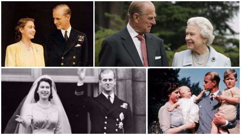 In Pictures: British royals celebrate 70th wedding anniversary