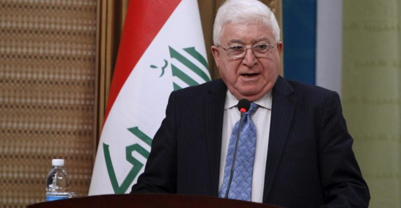 Iraqi President to visit Kuwait on Monday