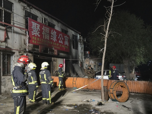 China: Deadly house fire in Beijing suburb kills 19, injures 8