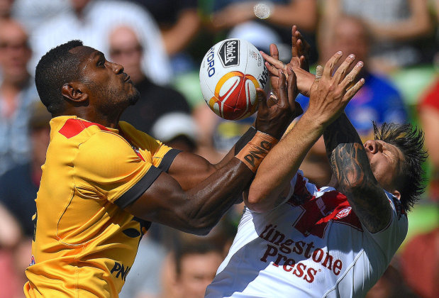 Rugby League: England, Australia, Tonga and Fiji in World Cup semi-finals