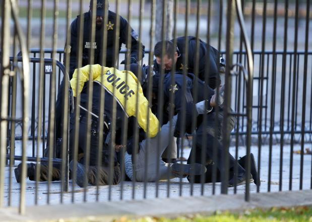 US: Secret Service apprehends attempted White House fence jumper