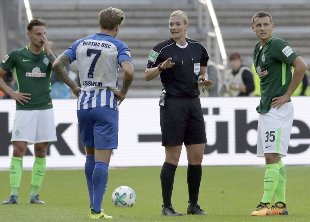 Bibiana Steinhaus, the referee breaking unseen barriers for women in football
