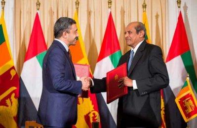 UAE, Sri Lanka sign deal for customs cooperation