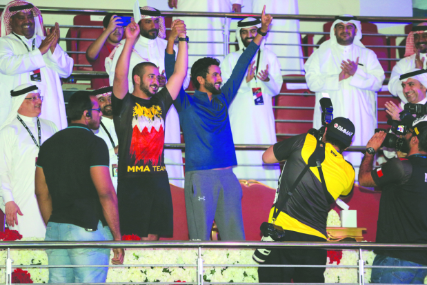 Shaikh Khalid praises successful Brave Week