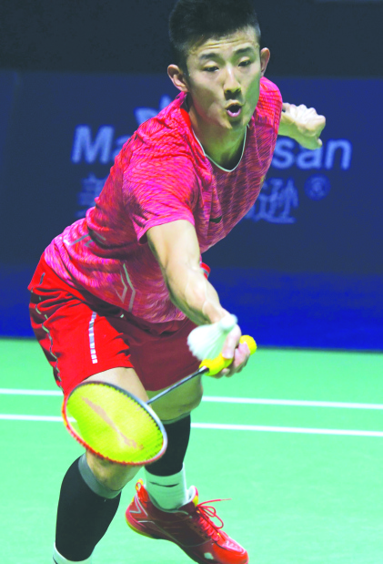 Chen claims fourth China Open title