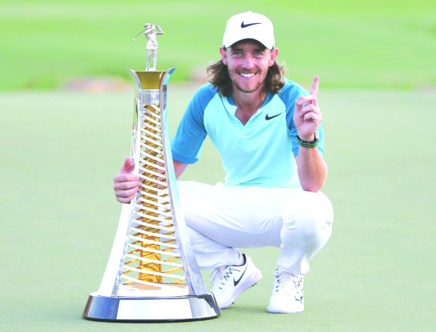 Fleetwood wins Race to Dubai title