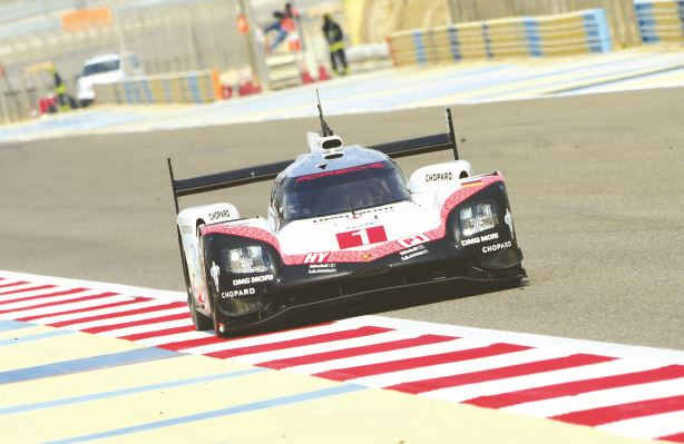 Bernhard fastest for Porsche