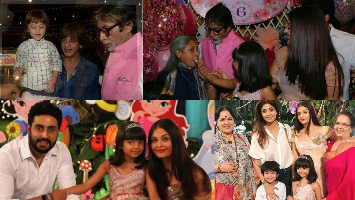 Bollywood: Aishwarya and AbRam steal the show at Aaradhya Bachchan's birthday party
