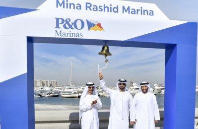 New Marinas at Mina Rashid in Dubai inaugurated