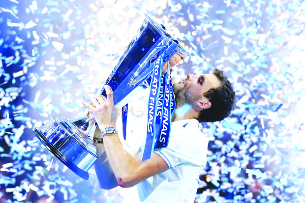 Dimitrov 'new lord of tennis'