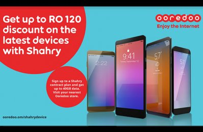 Ooredoo Oman offers free data, handset discount