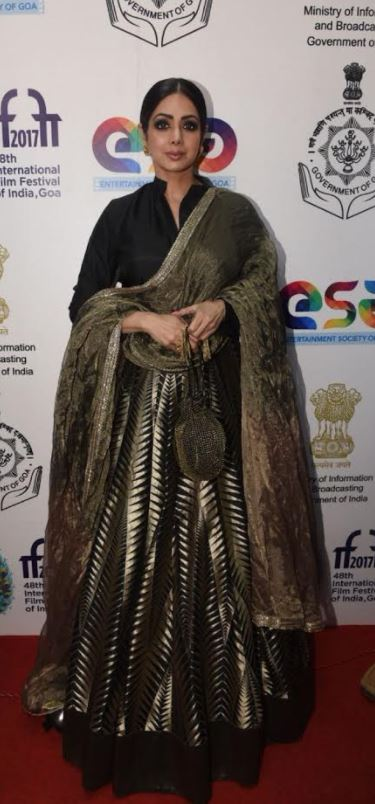 Photos: Sridevi, Shah Rukh, Shahid shine at the IFFI 2017