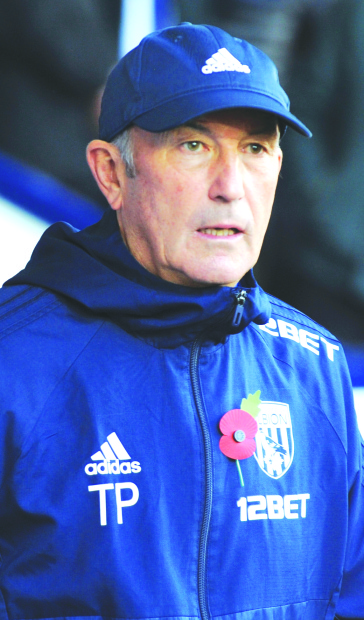 Pulis sacked as West Bromwich manager