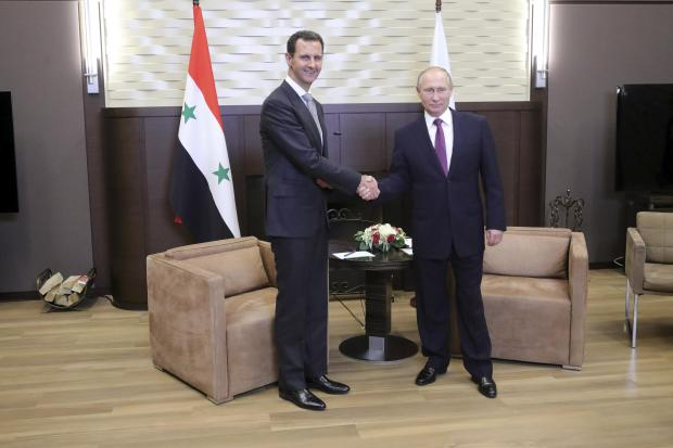 Putin hosts Syria's Assad for talks