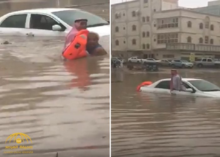 Video: Filipino expat rushes to the rescue of elderly Saudi man