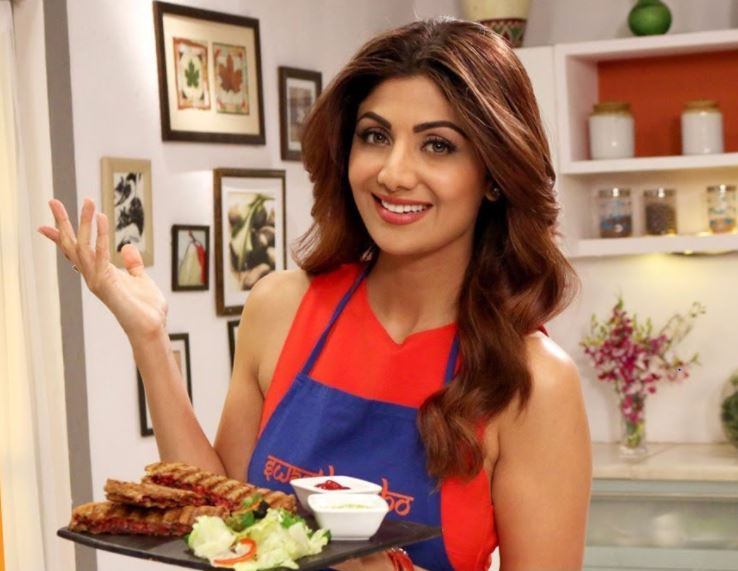 Shilpa Shetty to release cookbook in January