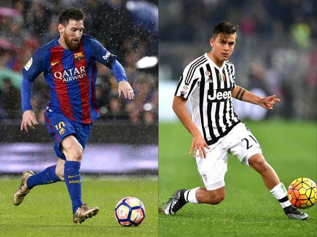 Dybala and Messi renew rivalry in Turin