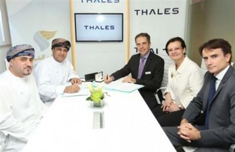 Oman Air B737 MAX to fly with Thales entertainment system