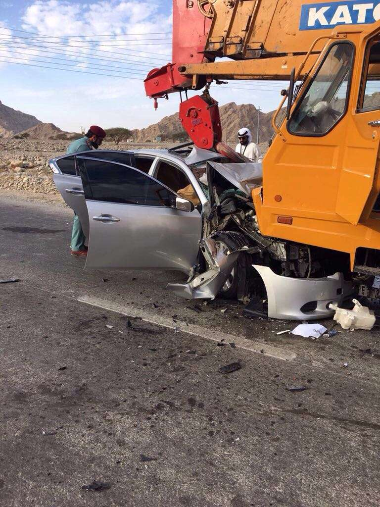 Two Asians killed in horrific accident in Ras Al-Khaimah