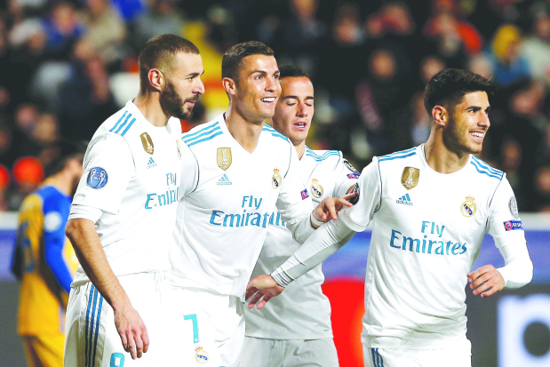 FEARSOME AGAIN: Benzema Ronaldo revive scoring touch