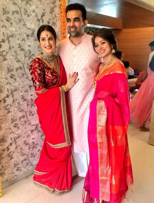 Zaheer Khan marries Sagarika Ghatge