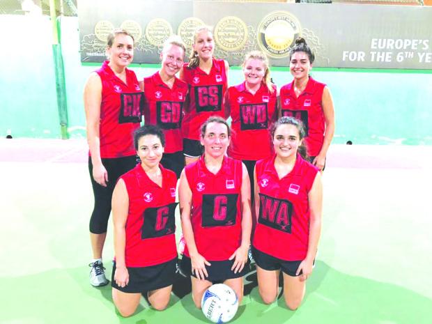 Dilmun 'A' notch netball victory