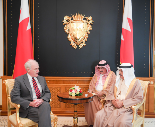 Bahrain strategic relations with US hailed