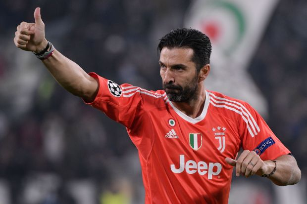 Juventus keeper Gianluigi Buffon stuns fan by throwing him his shorts