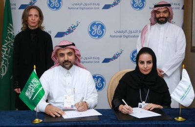 GE joins Saudi digital industrial innovation drive