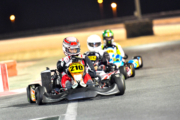 Karters set for second round of sprints