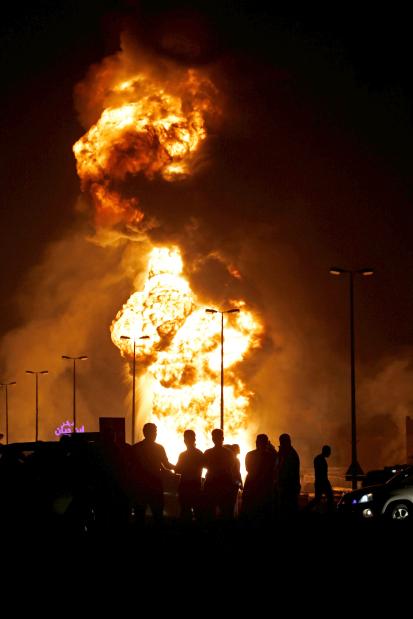 Buri pipeline blast response 'a model'