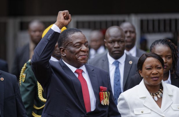 Emmerson Mnangagwa the 'Crocodile' sworn in as Zimbabwe president