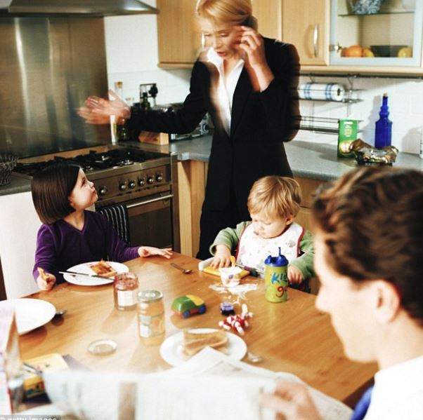Stressed out parents less likely to cook homemade meals