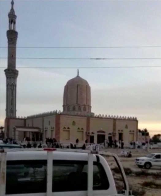 Bahrain condemns Egypt mosque attack